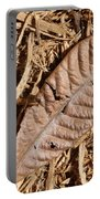 Dried Leaf Portable Battery Charger