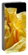 Dried Yellow Rose II Portable Battery Charger