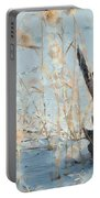 Driftwood Abstract Portable Battery Charger