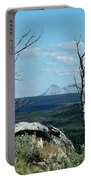 Gnarled Trees And Divide Mountain Portable Battery Charger