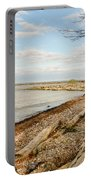 Driftwood On Shore Portable Battery Charger