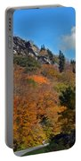 Driving Through Autumn's Beauty   Portable Battery Charger