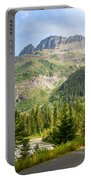 Driving Through Glacier National Park Portable Battery Charger