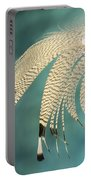 Droopy Feather Portable Battery Charger