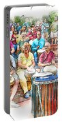 Drum Circle Of Friends Portable Battery Charger