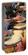 Drum Jammin In Golden Gate Park Portable Battery Charger