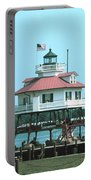 Drum Point Light Portable Battery Charger