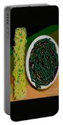 Dry Sauteed Stringbeans Portable Battery Charger
