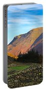 Dry Stone Walls In Patterdale In The Lake District Portable Battery Charger