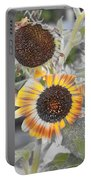 Dry Sunflowers Portable Battery Charger