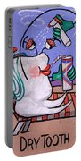 Dry Tooth Dental Art By Anthony Falbo Portable Battery Charger