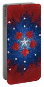 Dual Citizenship 2 Portable Battery Charger by First Star Art