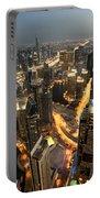 Dubai Marina Twilight Portable Battery Charger