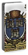 Dublin Coat Of Arms Portable Battery Charger