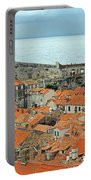 Dubrovnik Rooftops And Walls Portable Battery Charger