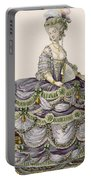 Duchess Evening Gown, Engraved Portable Battery Charger