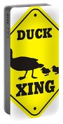 Duck Crossing Sign Portable Battery Charger