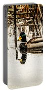 Duck On The Water Portable Battery Charger