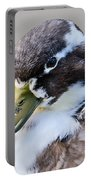 Duck Portrait Portable Battery Charger