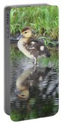 Duckling With Reflection Portable Battery Charger