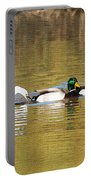 Ducks And Egret Portable Battery Charger