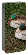 Ducks At Rest Portable Battery Charger