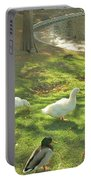 Ducks At The Park Portable Battery Charger