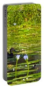 Ducks In Lily Pond Portable Battery Charger