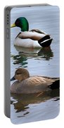 Ducks On A Pond Portable Battery Charger