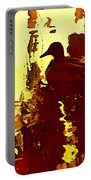 Ducks On Red Lake 3 Portable Battery Charger