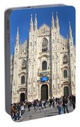 Duomo In Milano. Italy Portable Battery Charger