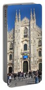 Duomo In Milano. Italy Portable Battery Charger by Antonio Scarpi