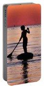 Dusk Float - Sunset Art Portable Battery Charger