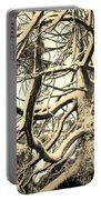 Snow Dusted Limbs Portable Battery Charger