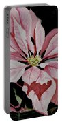 Dustie's Poinsettia Portable Battery Charger