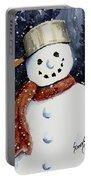Dustie's Snowman Portable Battery Charger