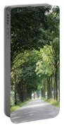 Dutch Landscape - Country Road Portable Battery Charger