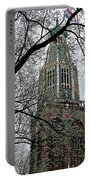 Dutch Reformed Church Tower In Enkhuizen-netherlands Portable Battery Charger