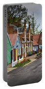 Dutch Shops On Windmill Island In Holland Michigan Portable Battery Charger