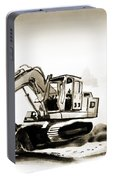 Duty Dozer In Sepia Portable Battery Charger