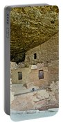 Dwellings In Spruce Tree House On Chapin Mesa In Mesa Verde National Park-colorado  Portable Battery Charger