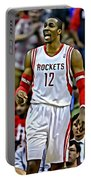 Dwight Howard Portable Battery Charger by Florian Rodarte