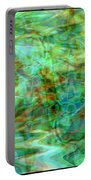 Dynamic Abstract Art Portable Battery Charger