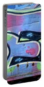 E Is For Equality Portable Battery Charger by Donna Blackhall