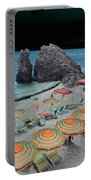 Cinque Terre Beach One Portable Battery Charger