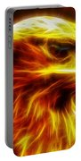 Eagle Glowing Fractal Portable Battery Charger
