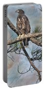 Eaglets In Oil Portable Battery Charger
