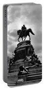 Eakins Oval In Winter Portable Battery Charger by Bill Cannon