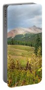 Early Autumn In The San Juans -  Mount Wilson And Wilson Peak Portable Battery Charger
