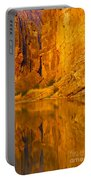Early Morning Canyon Reflection Portable Battery Charger
